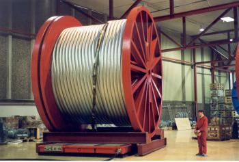 Cable drum transportation Solving Mover 17