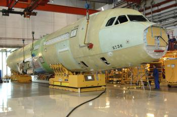 Fuselage transportation Solving air bearings