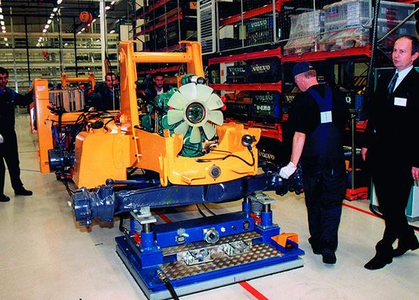 10t flexible assembly of wheel loaders