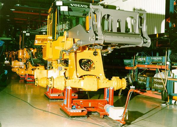 15t assembly line for wheel loaders