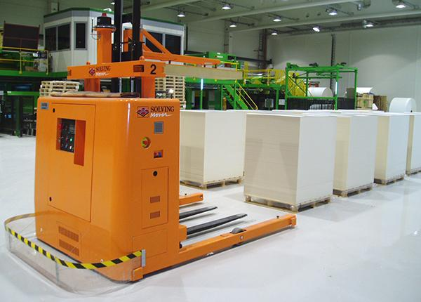 15t automated handling of sheet pallets