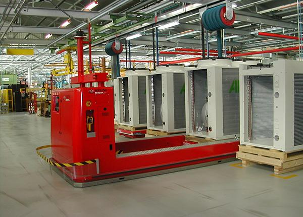 21t automated handling of air conditioning equipment