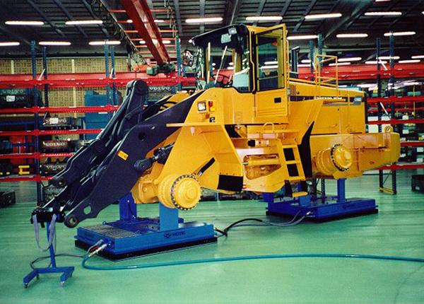25t assembly line for wheel loaders