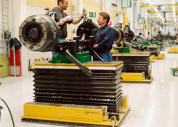 2t assembly carriers for axles
