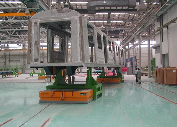 30t metro trains on air bearings and wheels