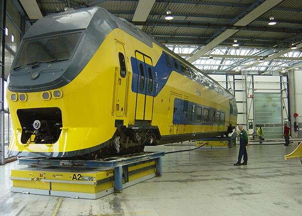 40t handling of railway carriages