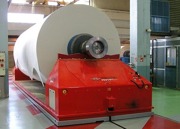 65t automatic tambour handling