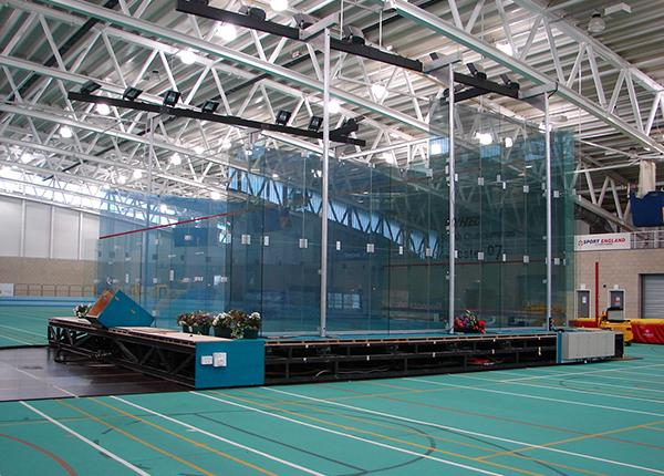 7t modules to move squash court